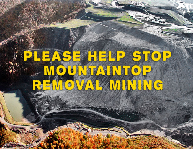 mountain top removal coal mining