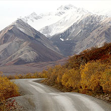 Jon Fox - photo of alaska denali park where Jon lived